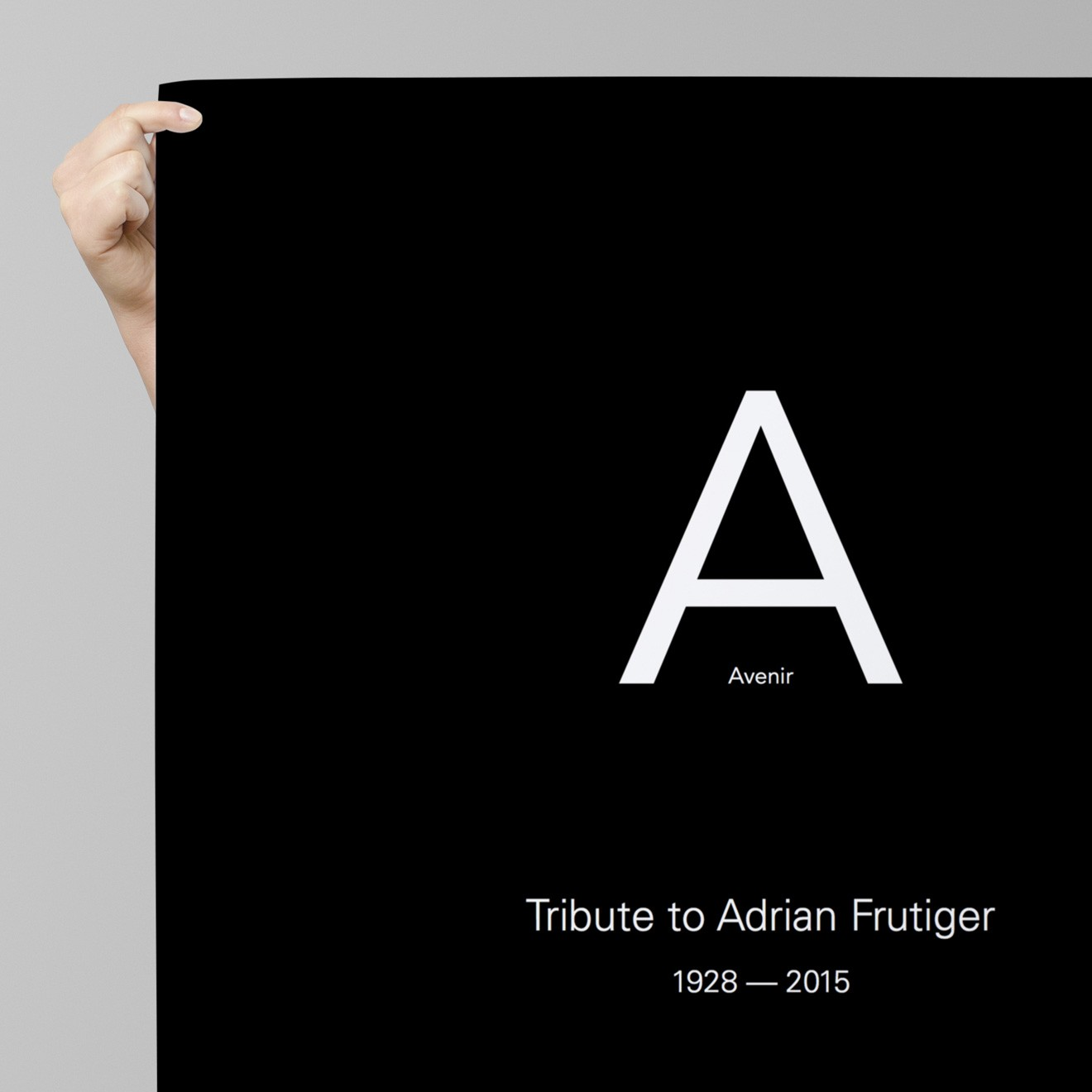 Tribute to Adrian Frutiger